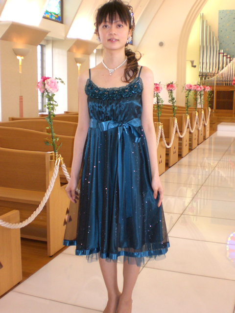 [ ゲストドレス(女性) ] lady005 女性ドレス